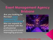 Event Management Agency Brisbane