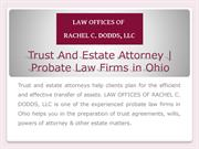 Estate Probate Attorney | Probate Law Firms in Northeast Ohio