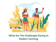 What are the Challenges Facing in Modern Farming