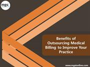 Benefits of Outsourcing Medical Billing to Improve Practice