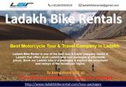 Best Leh Ladakh Bike Tour Packages-Ladakh Bike Rental