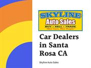 Car Dealers in Santa Rosa CA