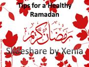 Preparation and Tips for Ramadan
