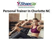 Personal Trainer In Charlotte NC