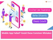 Avoid these Common Mistakes When Creating Mobile App