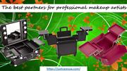 Makeup cases on wheels - The best partners for professional makeup art