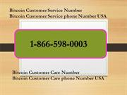 Bitcoin Customer Support Phone Number ☎️⧼☥