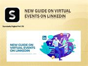 New Guide on Virtual Events on LinkedIn