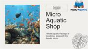 Micro Aquatic Shop Aquarium Supplies Online Australia