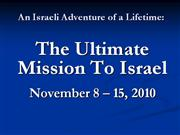 The Ultimate Mission Presentation I