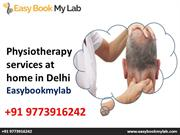Physiotherapy Services At Home | No Wating time Instant Appointment