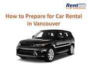r Things you should know before renting a car in Vancouver