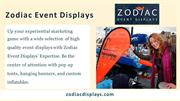 Custom Printed Signs _ Zodiac Event Displays