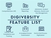 Digiversity Feature List