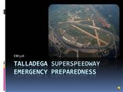 talladega superspeedway emergency preparedness