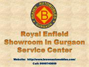 Royal Enfield Showroom in Gurgaon Service Center