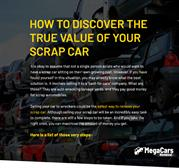 How to Discover the True Value of Your Scrap Car