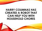 Harry Coumnas Created a Robot That Can Help You with Household Chores
