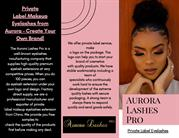 Private Label Makeup Eyelashes from Aurora – Create Your Own Brand!