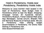 Pondicherry Service Apartment