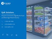 Acquire Customers Digitally for Food and Beverage Industry