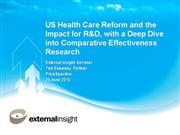 741 Comparative Effectiveness 28 June 2010 REDUCED TEXT
