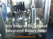 Key Stage of High Speed Integrated Rotary Stage