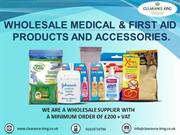 medical first aid product wholesaler