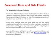 Careprost Uses and Side Effects