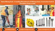 Rama Mining Tools - A Leading Manufacturer Of Pneumatic Tools & Access