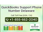 QuickBooks Support Phone Number Delaware 1-855-662-2O4O