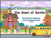 The Giant of Seville Lesson Plan