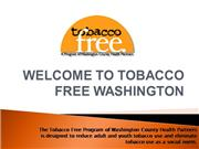 Tobacco Free Washington