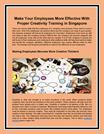 Make Your Employees More Effective With Proper Creativity Training