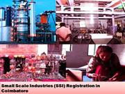 SSI Registration in Coimbatore | Get SSI Certificate in 1 hour