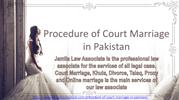 Get Know Legal Guide For Procedure of Court Marriage in Pakistan