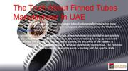 Finned Tubes Manufacturer In UAE