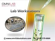Lab Workstations manufactured and design: OMNI Lab Solutions