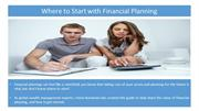 Where to Start with Financial Planning