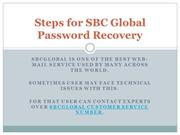 SBC Global Password Recovery_PPT1