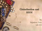 Globalization and HRM