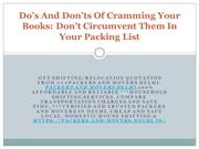 Do's And Don'ts Of Cramming Your Books: Don't Circumvent