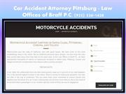 Car Accident Lawyer Pittsburg
