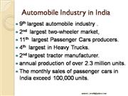 Indian Auto Industry