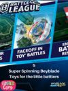 5 Super Spinning Beyblade Toys for the little battlers