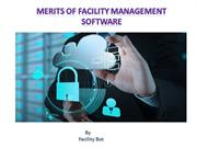 Merits of Facility Management Software