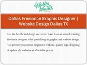 Dallas Freelance Graphic Designer | Website Design Dallas TX