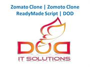 Best Online Zomato Clone - DOD IT Solutions