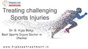 sports injury doctor in chennai | Orthopedic Doctor in Chennai