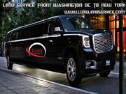 Limo service from Washington DC to New York